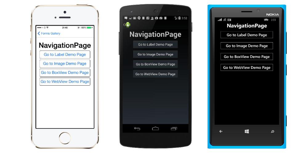 NavigationPage